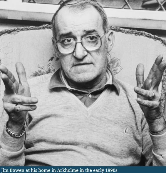 Jim Bowen - picture courtesy of the Westmorland Gazette