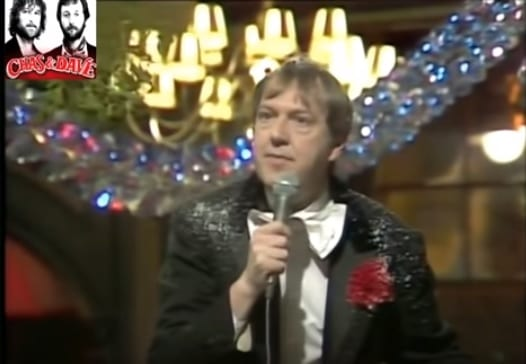 Jimmy Cricket appeared on the 1982 Chas and Dave Christmas special