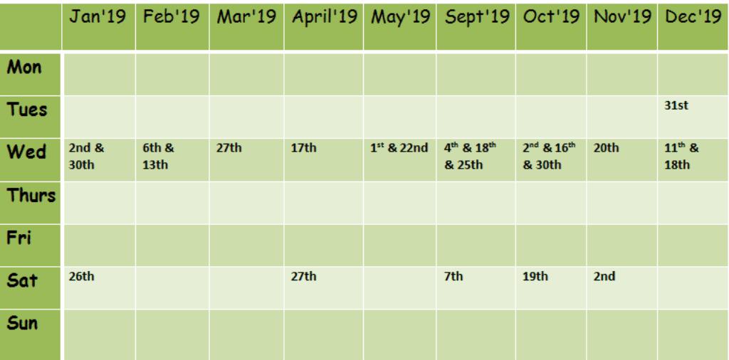 Jimmy Cricket's Lyndene Hotel dates in 2019