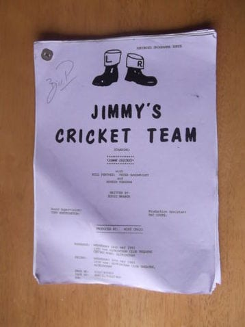 Jimmy's Cricket Team script