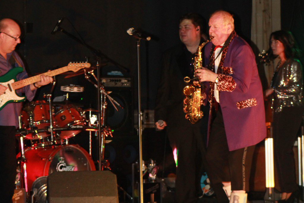 Jimmy performed with the Vintage Corporation Band