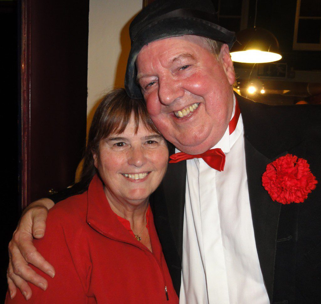 Jimmy Cricket and Tina Goodall