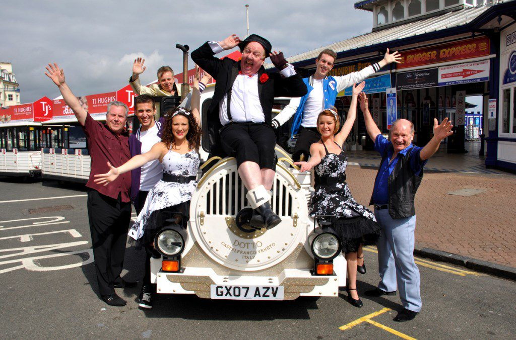 Jimmy and the rest of the Eastbourne show entertainers