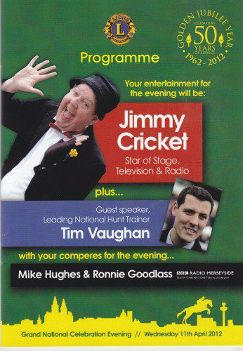 Jimmy Cricket and Tim Vaughan were special guests at the celebration evening