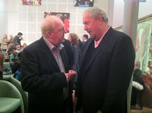 Jimmy Cricket and Gerry Kelly