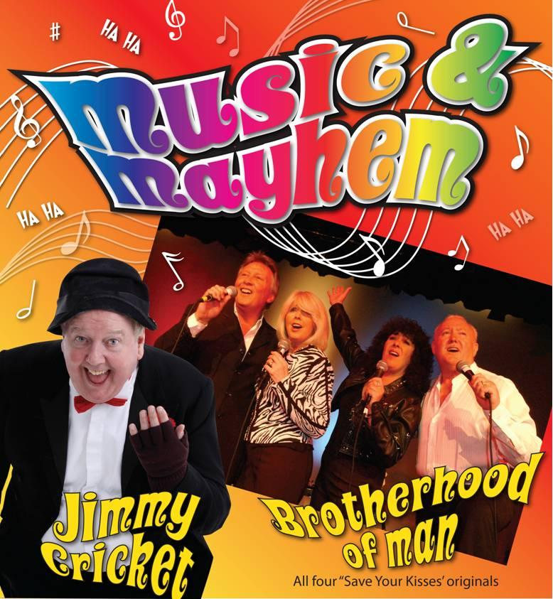 Jimmy Cricket and Brotherhood of Man