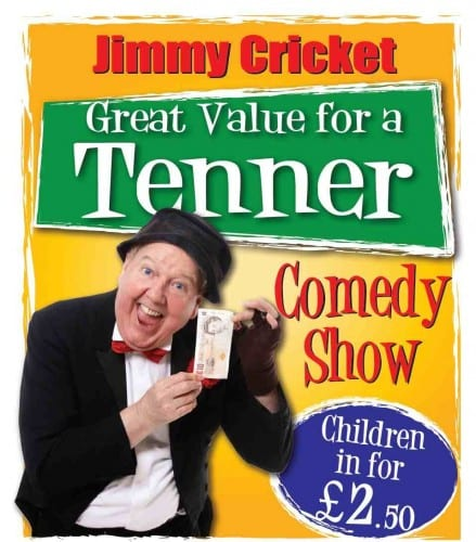 Jimmy Cricket poster: Great Value for a Tenner