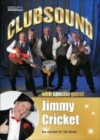 Jimmy Cricket is appearing with Clubsound in Northern Ireland