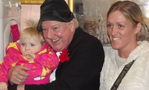 Jimmy Cricket at the 10th anniversary of the relaunch of Heywood Market Hall