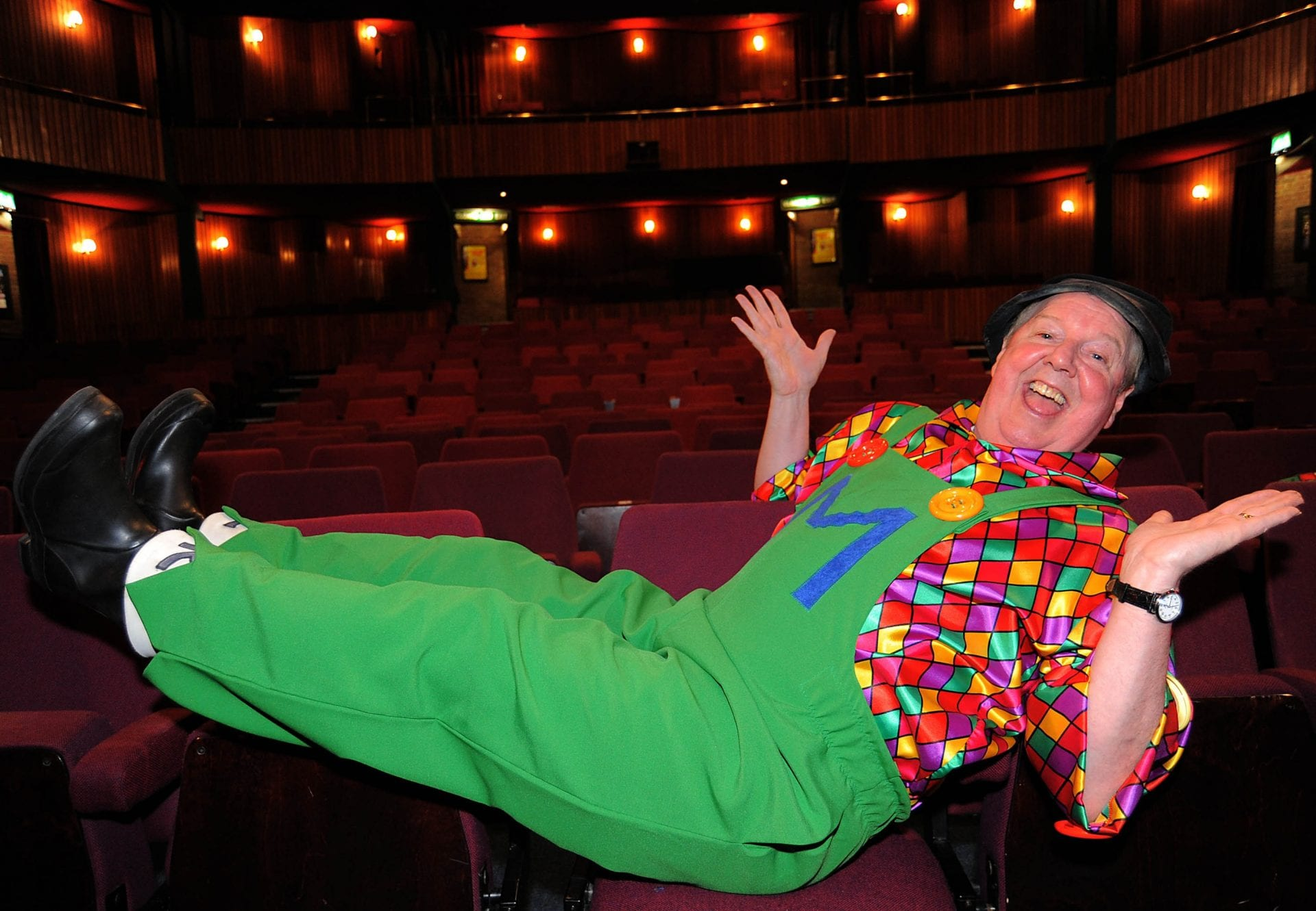 Jimmy Cricket will be headlining the Christmas panto at the Forum Theatre in Billingham