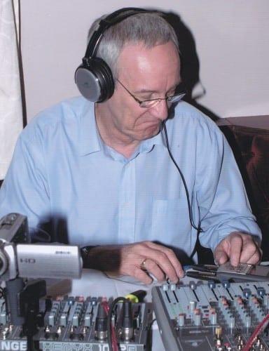 Radio producer Roger Neale