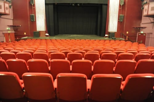 Inside the Princess Theatre in Hunstanton