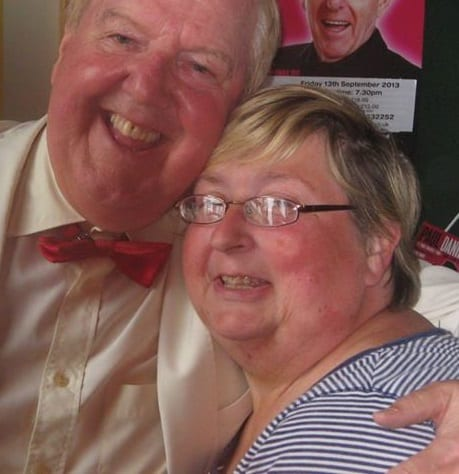 Jimmy Cricket with Julie Lathangue