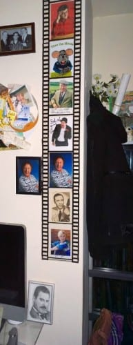 Wall of fame includes Ken Dodd and Jimmy Cricket