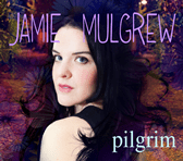 Jimmy Cricket's daughter Jamie features on the cover of the CD called Pilgrim