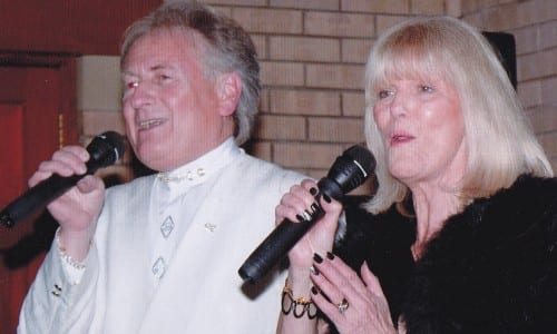 Brian and Maxine from the renowned band caked Lemon Tree