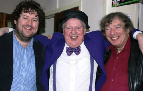 Norman Jacobs, Jimmy Cricket and West Cliff Theatre manager Paul George