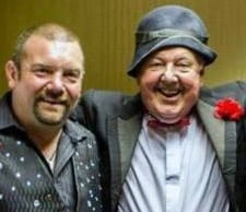Jimmy Cricket and Mick Locke