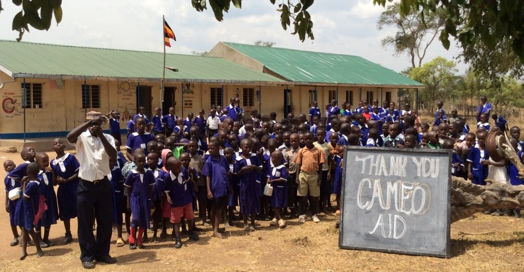 The charity Cameo-Aid delivers education to poor and deprived children in East Africa