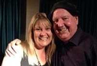 Jimmy Cricket with Lisa Roberts in Corby