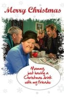 Jimmy Cricket's Christmas card features the Only Fools and Horses' sketch staring regular cast members David Jason and Nicholas Lyndhurst, plus special Comic Relief guest David Beckham