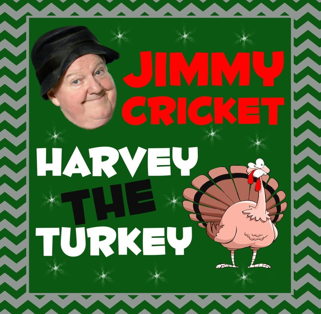 A new Christmas comedy song entitled 'The Ballad of Harvey the Turkey' is about to be released by the nation's favourite Irish comedian Jimmy Cricket.