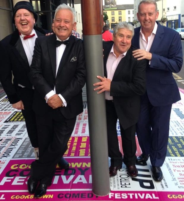 Jimmy is being reunited with fellow Northern Ireland comedians John Linehan (aka May McFetteridge), William Caulfield and Gene Fitzpatrick to create the You Must be Joking show that will tour Northern Ireland in early 2015