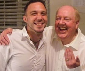 Jimmy Cricket and Jamie Brown