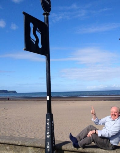 Jimmy Cricket in Ayr