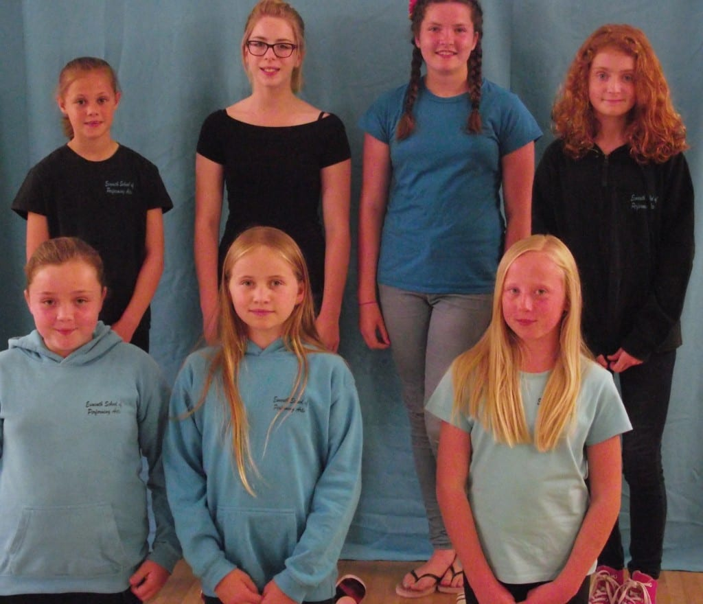 Dancers from the Exmouth School of Performing Arts