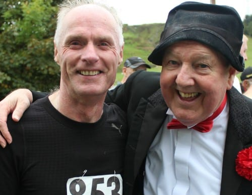 Jimmy Cricket with John Hughes