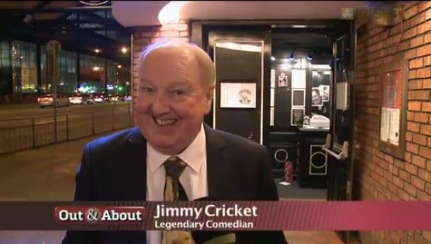 Jimmy Cricket on Irish TV