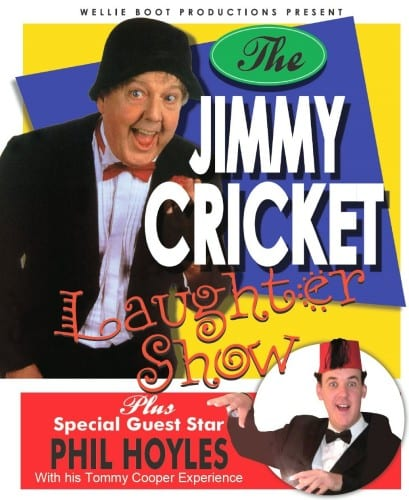 The Jimmy Cricket Laughter Show comes to the Astor Theatre in Deal on Saturday 28 November 2015