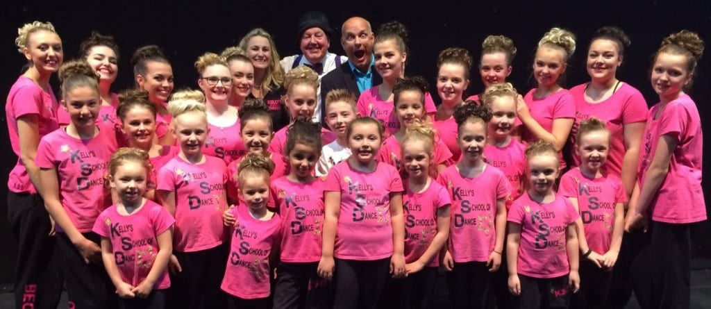 Jimmy Cricket with Matt Redmond and Kelly Baker's School of Dance at the Abbey Theatre in Nuneaton