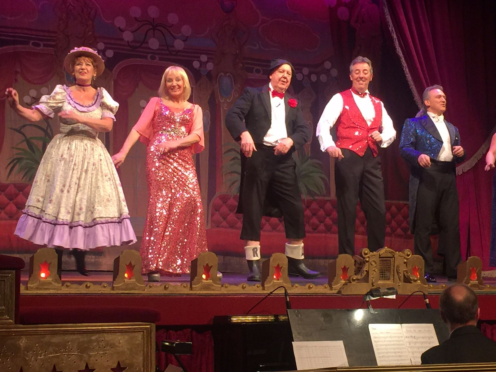 The Good Old Days show at the City Varieties Music Hall in Leeds