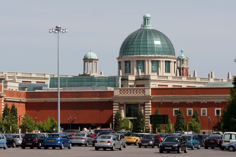 Intu Trafford Centre on the outskirts of Manchester