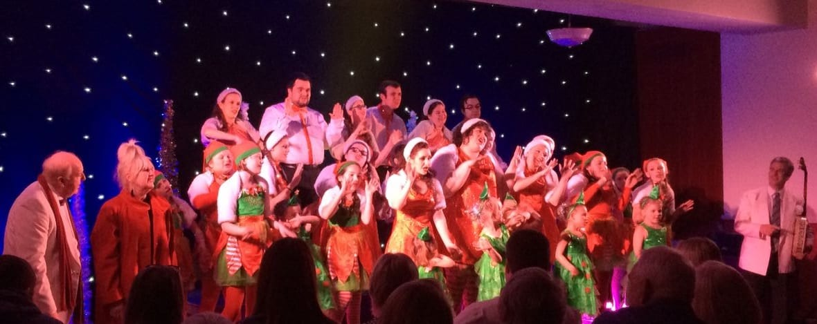 Performers at the show in Wisbech