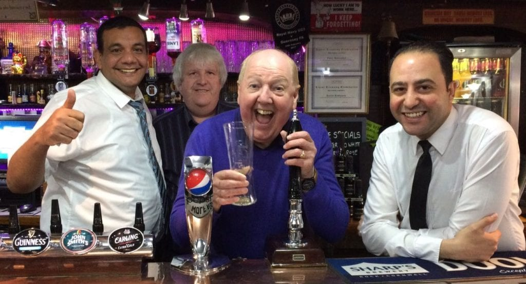 Jimmy Cricket and friends at the Wayside Cheer Hotel in Guernsey