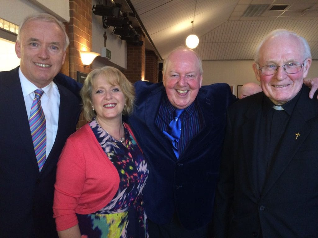 Jimmy Cricket, Fr David O'Kane and friends