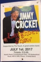 Jimmy Cricket poster