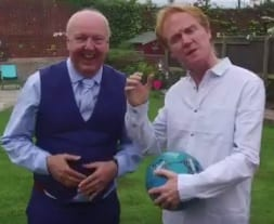 Jimmy Cricket and Owen O'Neill