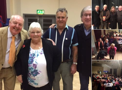 Had a wonderful night at Bentham Town Hall pictured here with organisers Brian and Mavis Mason with fellow act Jonathan Young alongside Fr Frank for St Boniface Parish Funds!