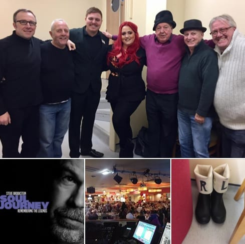 Such a great night, lastnight at Porthcawl's Trecco Bay Holiday Park's Golden Ticket Event, with the incredibly funny comedy legend Jimmy Cricket and the fabulous soulful vocalist and X Factor winner Steve Brookstein. Thanks to Kelly and her staff for their hospitality and to the fab crowd for packing the dancefloor!!