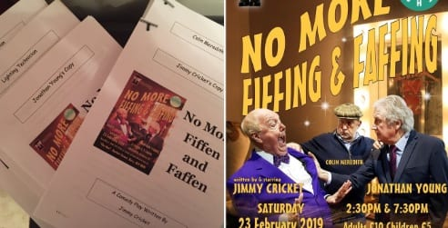 Well getting excited as the scripts are ready for the revisit to the play which will be staged at the Bury Met this coming 23rd February 2019, after it's premier last Sept 2018 @EmpireTheatreBB