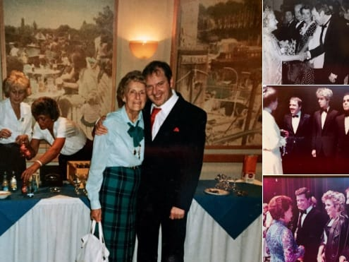 Sharing some nostalgia here with my great friend and personal manager Phylis Rounce who was with me when Variety was King on Television and out there with live performance!