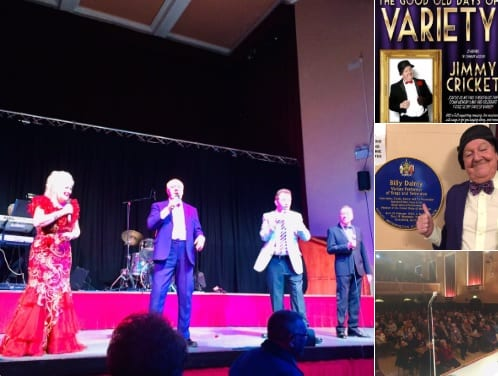 A wonderful full house afternoon @DudleyBorough Halls with Mark Andrews Productions. Paul was on keyboards and Graham was on drums alongside the fabulous harmonica instrumentalist Johnny Stafford and with the great voice of Linda Watts!