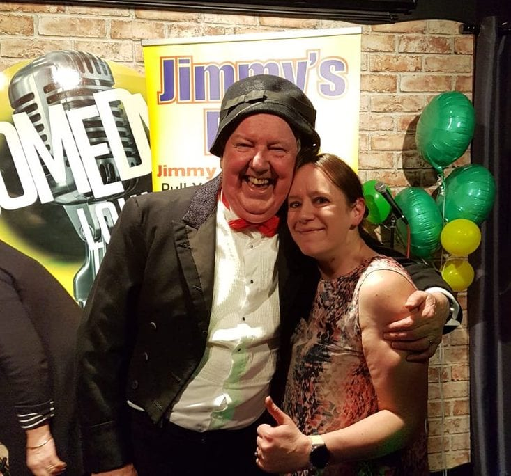 karen  @karenlouise80 9h9 hours ago More @jimmy__cricket well a childhood dream of mine came true tonight,meeting the legend that is jimmy cricket