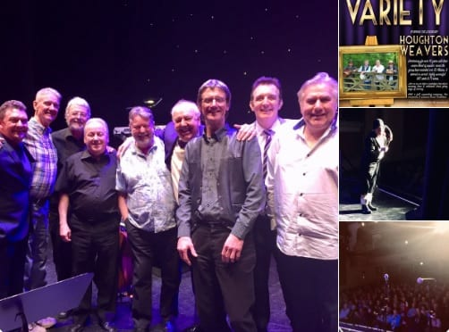 Another fantastic afternoon at the Palace Theatre Mansfield for Mark Andrews Productions starring Mark, with Paul on keyboards and Graham on drums with the Houghton Weavers, (Tony, Jimmy, Dave, Steve), alongside @AndyEastwoodUK
