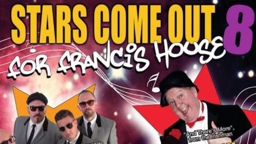 The latest Stars come out for Francis House show will be held at the Coliseum Theatre in Oldham on Tuesday (9 April).