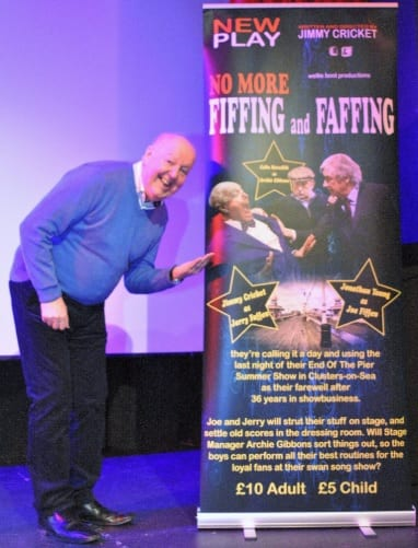 Looking forward to doing the dress rehearsal photos with the legend Jimmy Cricket this Sunday. His new play No More Fiffing & Faffing is on at the Chorley Little Theatre. With performances at 2.30pm & 7.30pm.